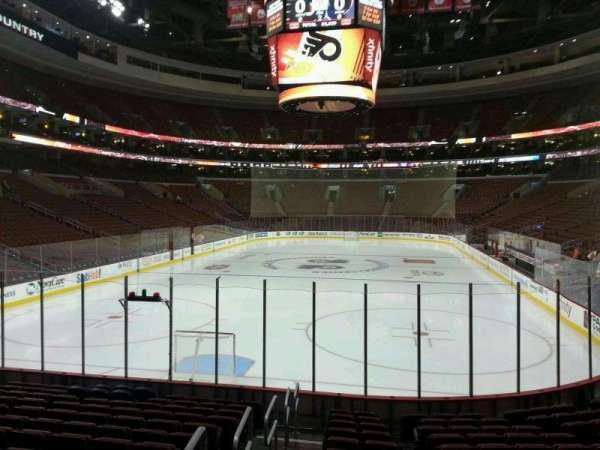 Wells Fargo Center, section: 120, row: 13, seat: 1