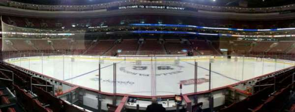 Wells Fargo Center, section: 113, row: 6, seat: 12