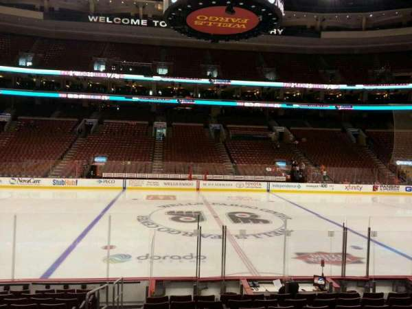 Wells Fargo Center, section: 113, row: 12, seat: 1