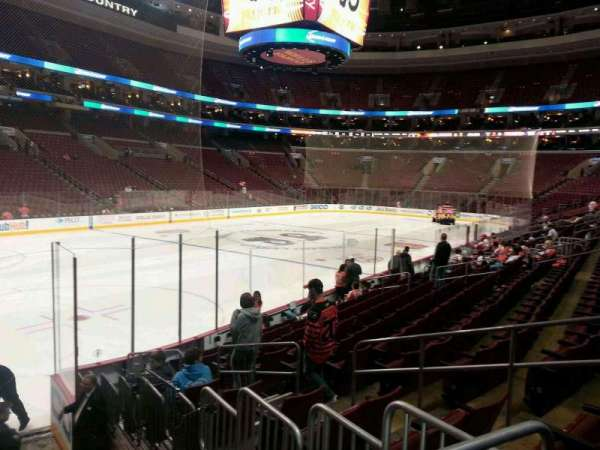 Wells Fargo Center, section: 122, row: 12, seat: 8