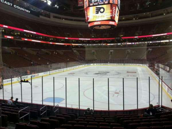 Wells Fargo Center, section: 120, row: 13, seat: 8
