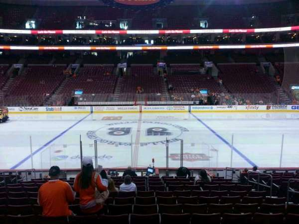 Wells Fargo Center, section: 113, row: 15, seat: 11