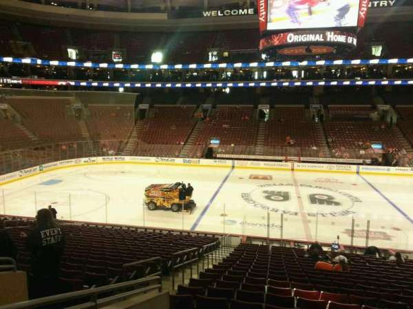 Wells Fargo Center, section: 113, row: 23, seat: 1