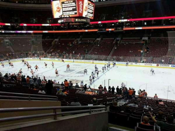 Wells Fargo Center, section: Club Box 3, row: 1, seat: 3