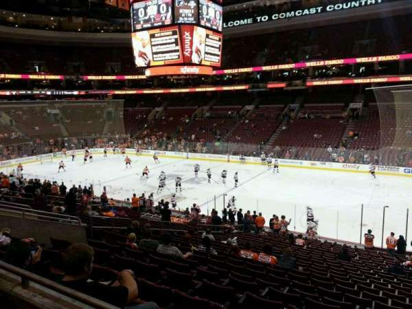 Wells Fargo Center, section: Club Box 3, row: 2, seat: 12
