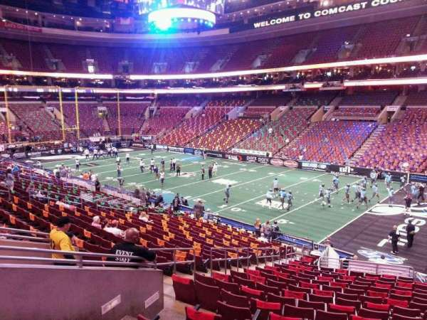 Wells Fargo Center, section: CB4, row: 1, seat: 7
