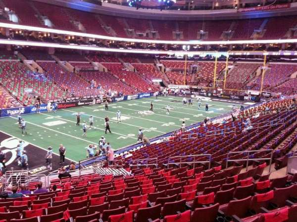 Wells Fargo Center, section: CB10, row: 1, seat: 6