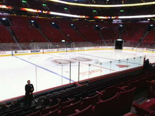 Centre Bell, section: 103, row: e, seat: 5