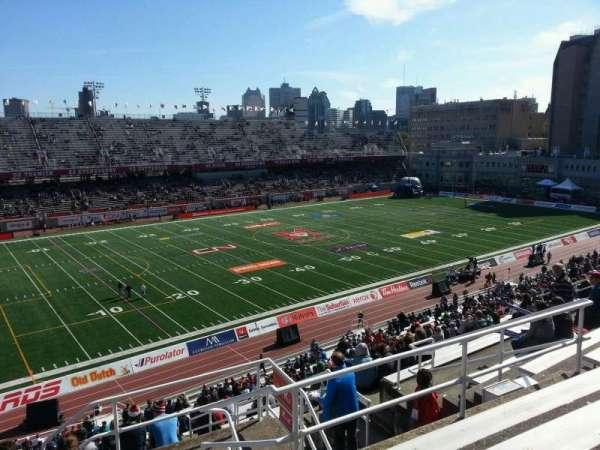 Percival Molson Memorial Stadium, section: k2, row: 7, seat: 1