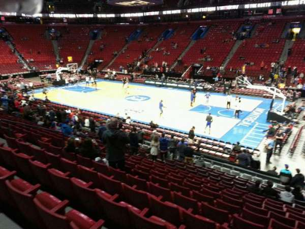 Centre Bell, section: 111, row: L, seat: 5