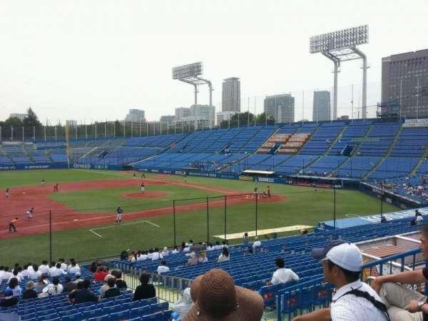 Jingu Stadium, section: 11, row: 31, seat: 116