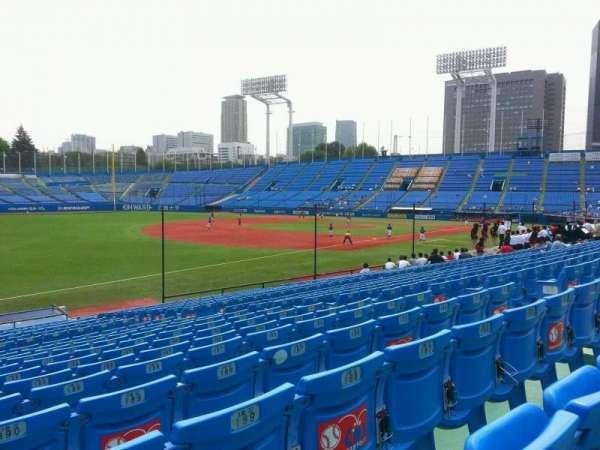 Jingu Stadium, section: 12, row: 25, seat: 191