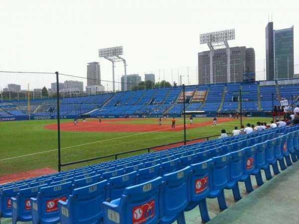 Jingu Stadium, section: 12, row: 14, seat: 182