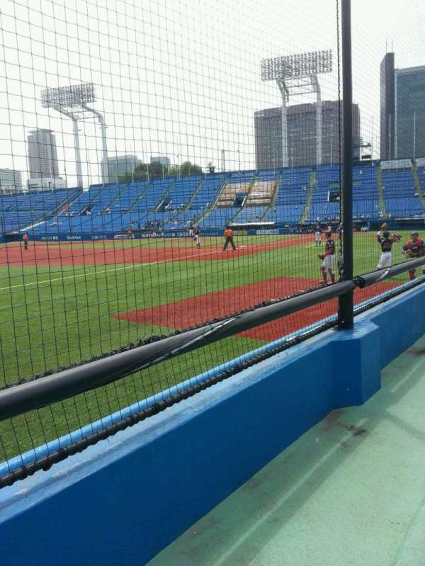 Jingu Stadium, section: 12, row: 3, seat: 167