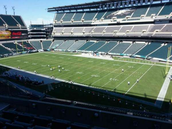 Lincoln Financial Field, section: c5, row: 10, seat: 13