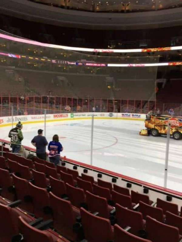 Wells Fargo Center, section: 112, row: 7, seat: 13