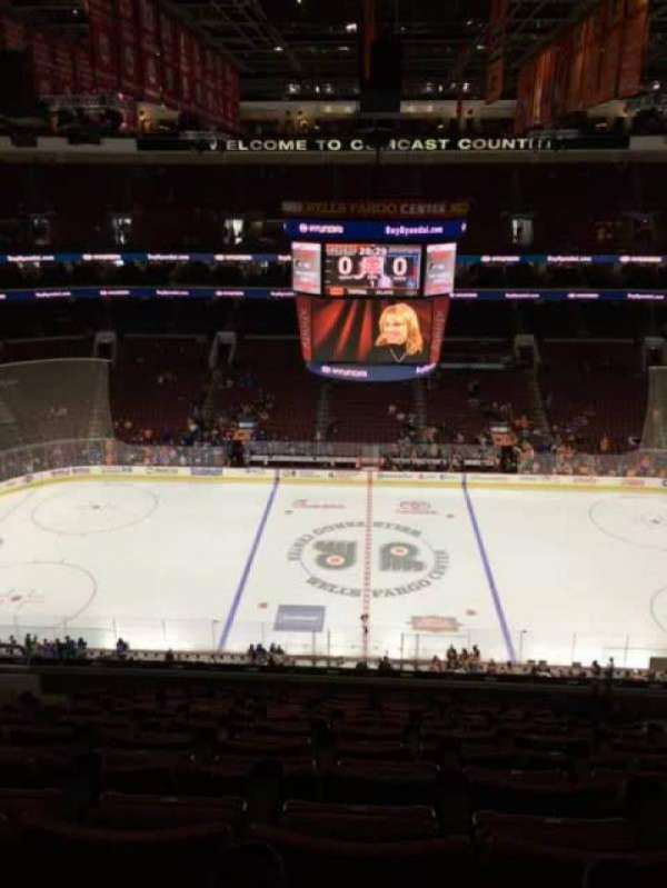 Wells Fargo Center, section: 213, row: 12, seat: 9