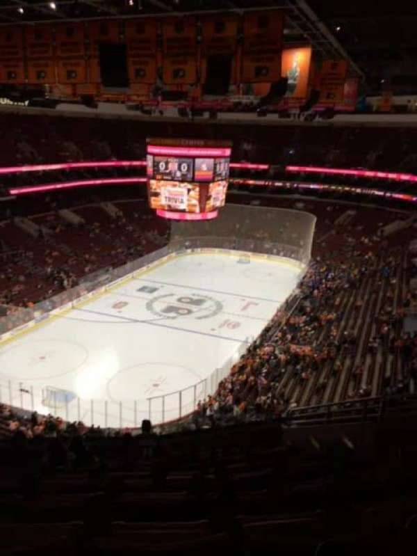 Wells Fargo Center, section: 221, row: 12, seat: 9