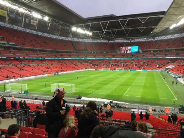 Wembley Stadium, section: 110, row: 38, seat: 213