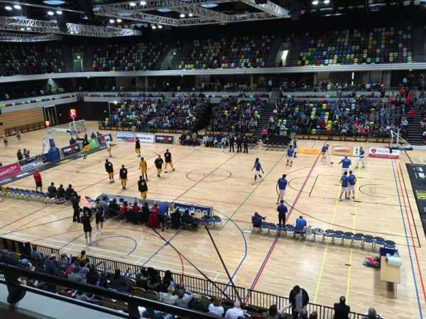 Copper Box Arena, section: 203, row: 12, seat: 56