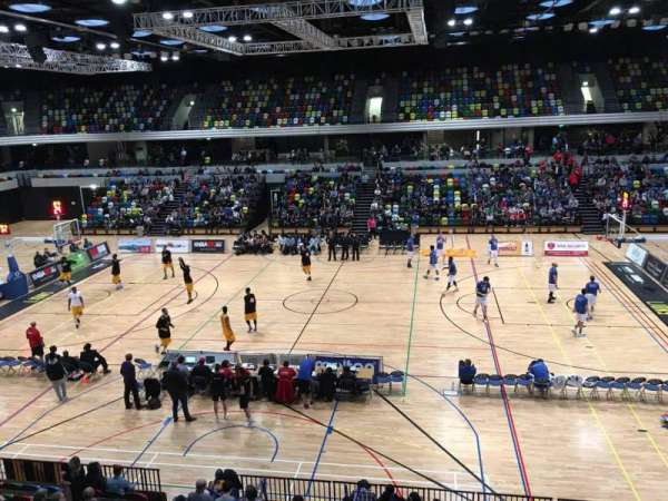 Copper Box Arena, section: 204, row: 12, seat: 68