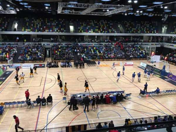 Copper Box Arena, section: 204, row: 13, seat: 90