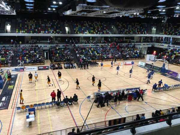 Copper Box Arena, section: 205, row: 13, seat: 101