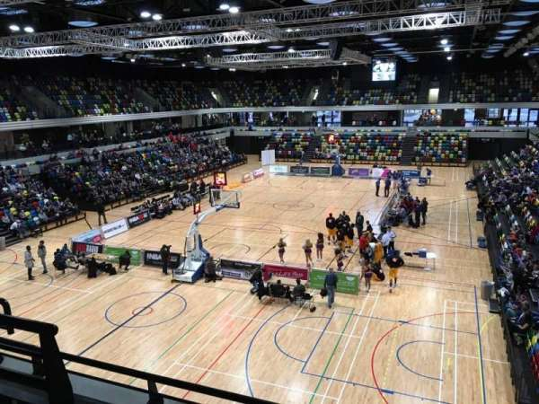 Copper Box Arena, section: 207, row: 13, seat: 30