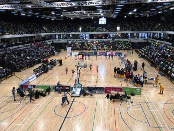 Copper Box Arena, section: 207, row: 12, seat: 47