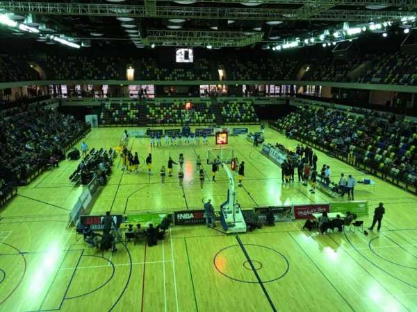 Copper Box Arena, section: 208, row: 13, seat: 64