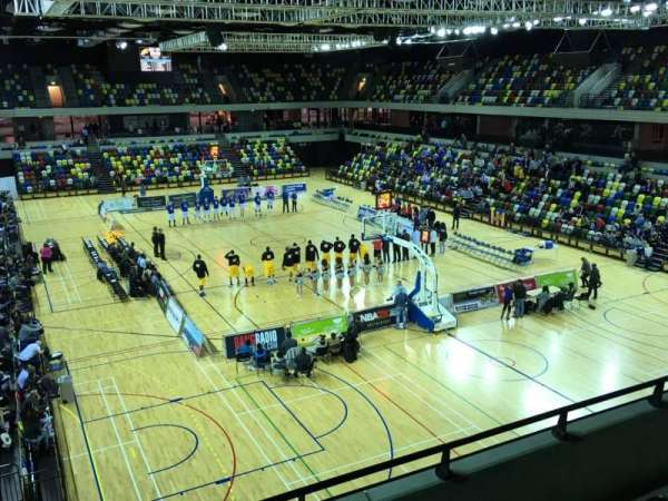 Copper Box Arena, section: 208, row: 14, seat: 85