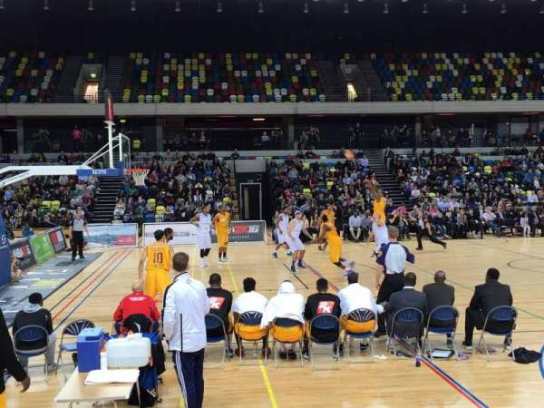 Copper Box Arena, section: 105, row: 5, seat: 101