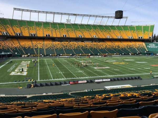 Commonwealth Stadium (Edmonton), section: Y, row: 35, seat: 10