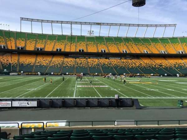 Commonwealth Stadium (Edmonton), section: V, row: 10, seat: 13
