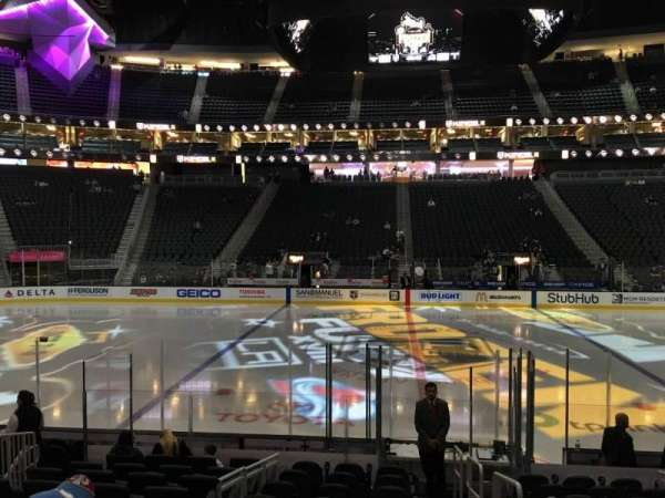 T-mobile arena , section 15, home of Vegas Golden Knights