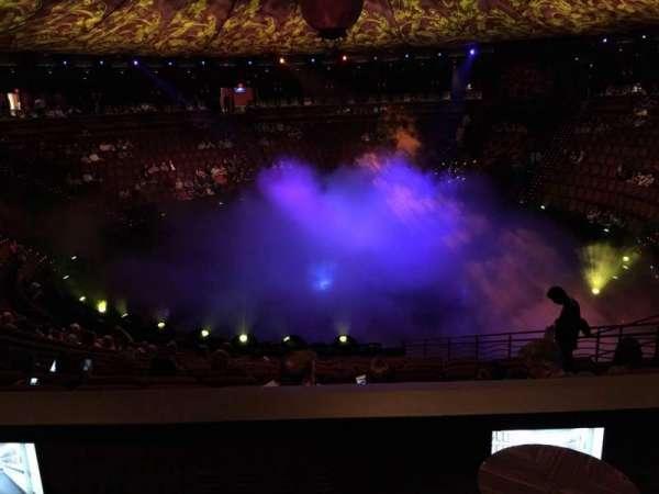 Wynn Theatre, section: E, row: L, seat: 6