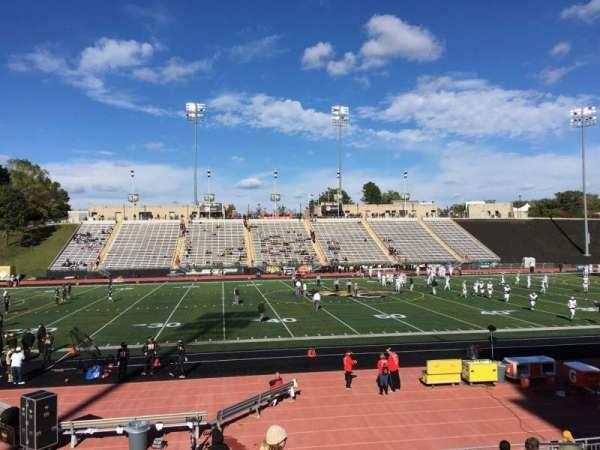 Johnny Unitas Stadium, section: 112, row: N, seat: 12