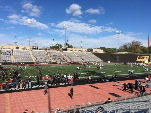 Johnny Unitas Stadium, section: 114, row: N, seat: 8