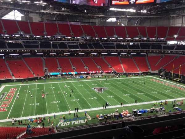 Mercedes-Benz Stadium, section: 240, row: 12A, seat: 19