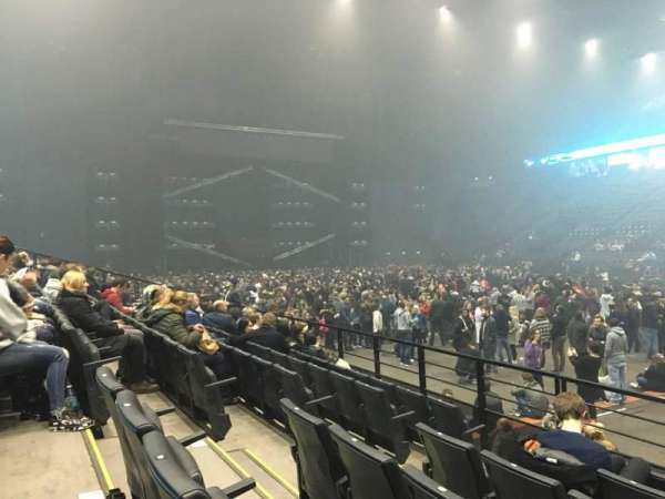 AccorHotels Arena, section: R, row: 23, seat: 30