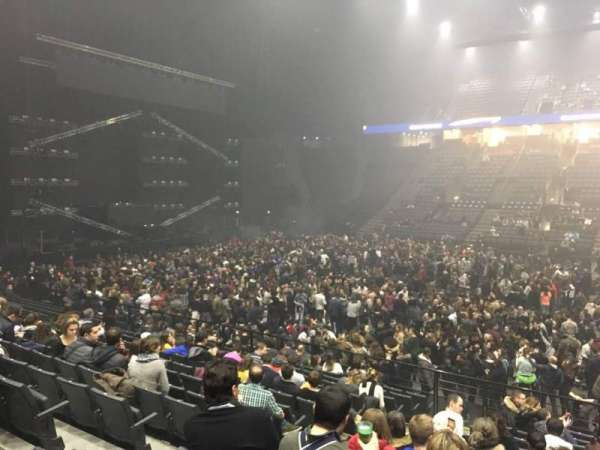 AccorHotels Arena, section: P, row: 15, seat: 29