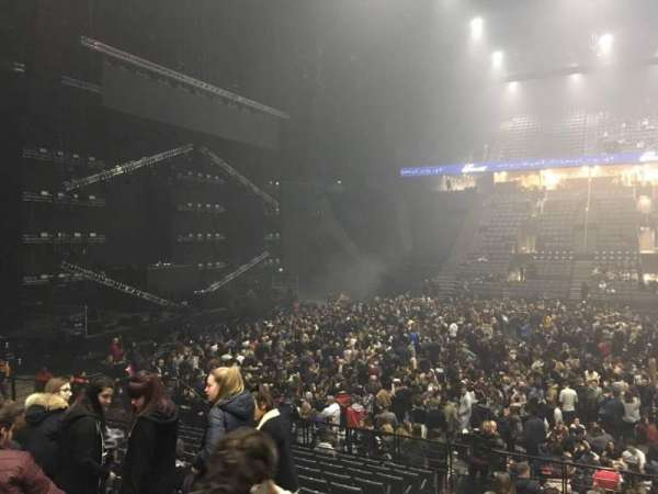 AccorHotels Arena, section: O, row: 15, seat: 11