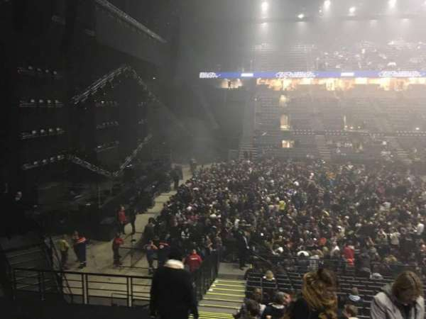AccorHotels Arena, section: N, row: 10, seat: 25