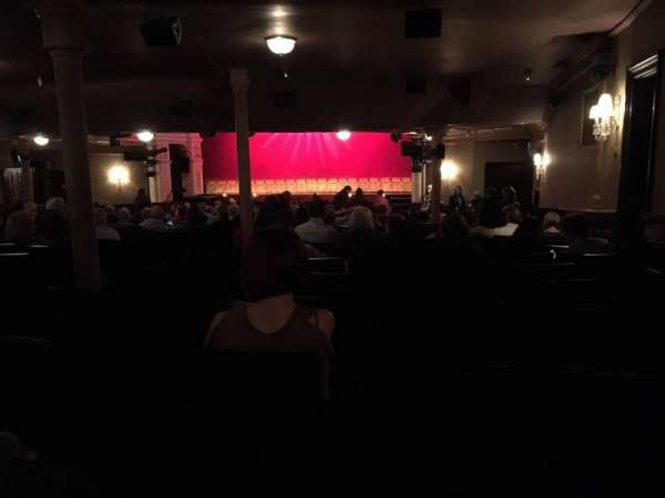 Garrick Theatre, section: Stalls, row: X, seat: 2
