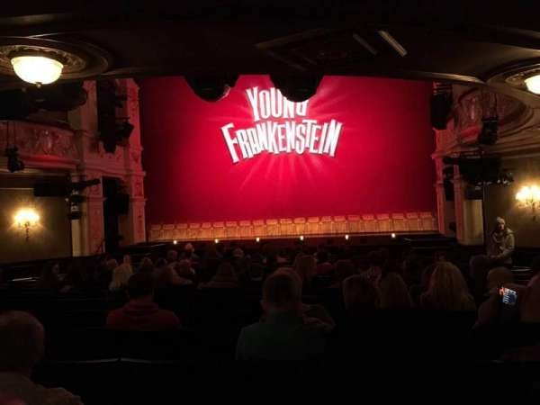 Garrick Theatre, section: Stalls, row: O, seat: 9