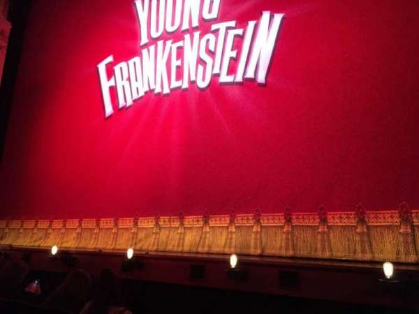 Garrick Theatre, section: Stalls, row: B, seat: 1