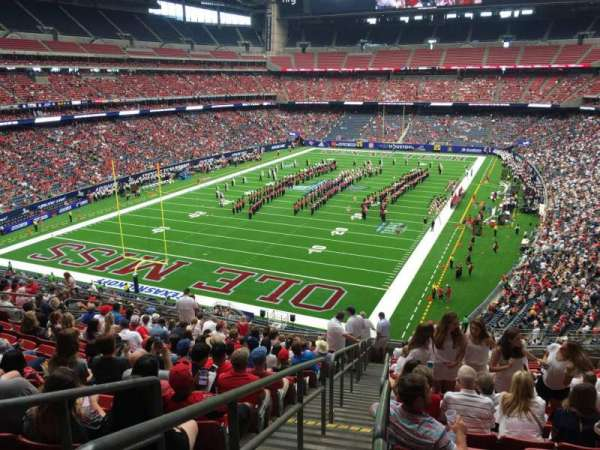 NRG Stadium, section: 320, row: S, seat: 16