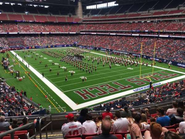 NRG Stadium, section: 356, row: H, seat: 13