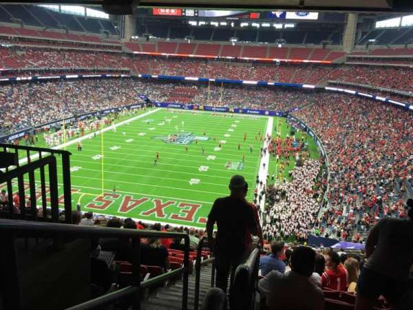 NRG Stadium, section: 349, row: V, seat: 15