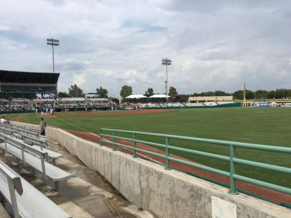 Nelson W. Wolff Municipal Stadium, section: 126, row: G, seat: 2